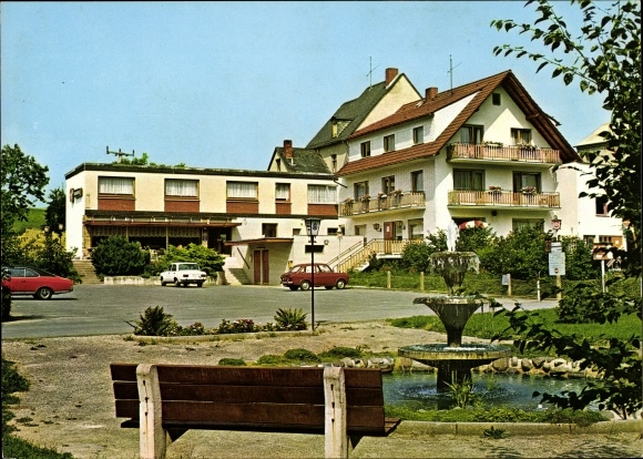 Ak Oberzeuzheim Hadamar im Westerwald, Hotel Pension Restaurant Lochmühle, Inh. Anton Güth