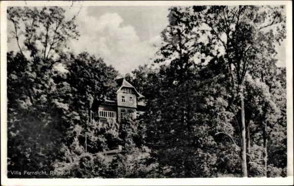 Ak Raisdorf Schwentinental in Schleswig Holstein, Gaststätte Villa Fernsicht, Inh. Detlef Schliemann