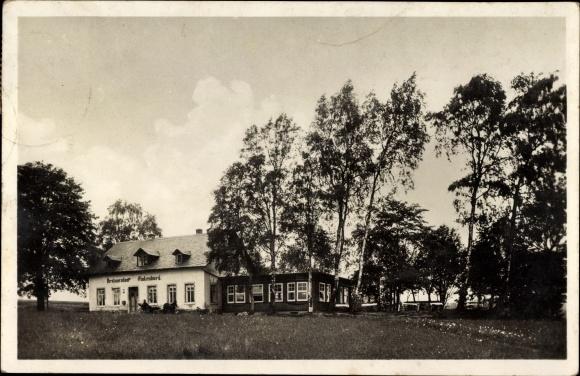 Ak Elterlein im Erzgebirge, Gasthaus und Handelsbienenstand Finkenburg, Inh. Georg Schaarschmidt