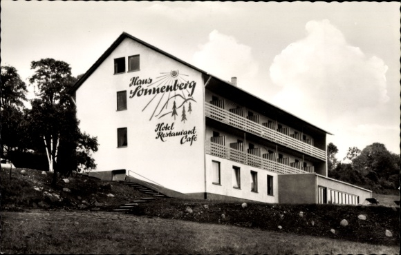 Ak Schotten im Vogelsbergkreis Hessen, Blick auf das Haus Sonnenberg, Inh. Conrad KG