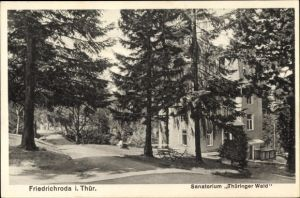Ak Friedrichroda im Thüringer Wald, Sanatorium Thüringer Wald