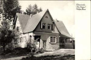 Ak Sitzenroda Belgern Schildau Nordsachsen, Blick auf das weiße Haus