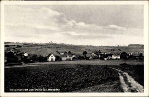 Ak Oelsa Rabenau im Erzgebirge, Blick auf den Ort mit Umgebung