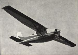Ak Cessna C-210, Flugzeug, Monoplan, Propellermaschine