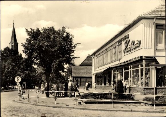 Ak Löcknitz in Mecklenburg Vorpommern Chausseestraße