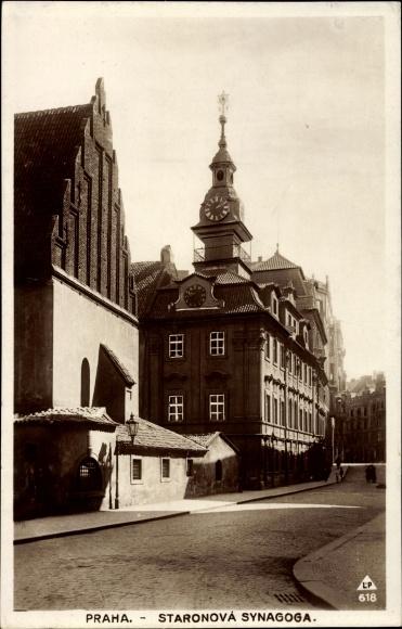 Judaika Ak Praha Prag, Staronova Synagoga, Altneusynagoge