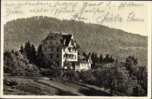 Ak Baden Baden im Stadtkreis Baden Württemberg, Hotel und Café Gretel, Bes. M. Leinweber