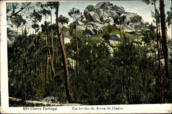 Ak Cintra Sintra Portugal, Um trecho da Serra de Cintra