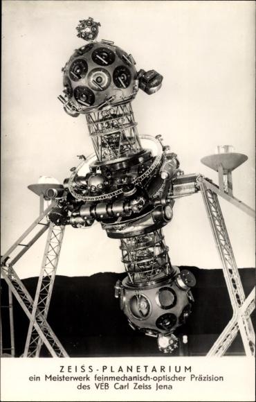 Ak Zeiss Planetarium, VEB Carl Zeiss Jena, Projektor