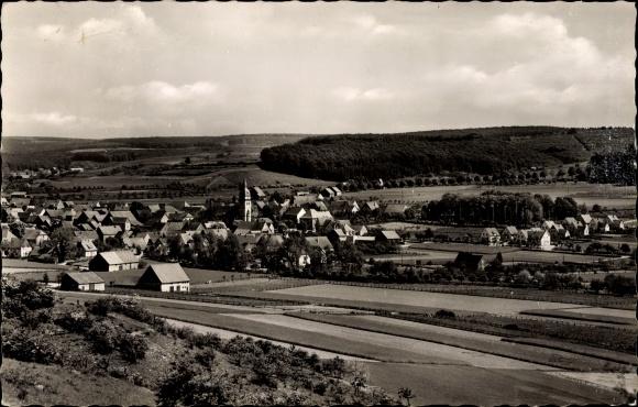 Ak Atteln Lichtenau in Westfalen, Blick auf Ortschaft und Umgebung