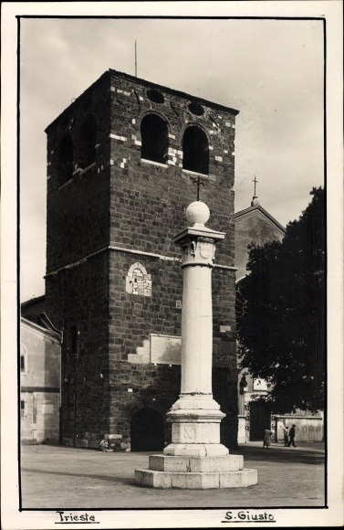 Ak Triest Friuli Venezia Giulia, S. Giusto, Torre