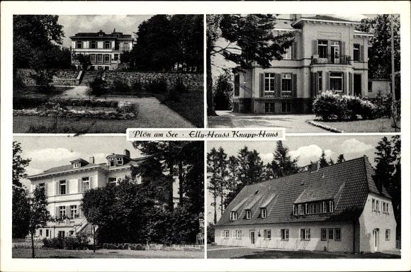 Ak Plön am See Schleswig Holstein Haus St Walburg