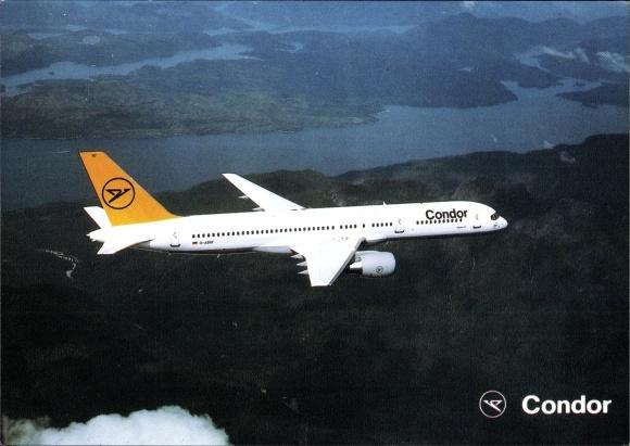 Ak Condor Airlines, Boeing B 757, Passagierflugzeug