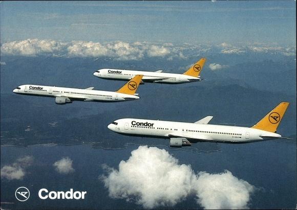Ak Condor Airlines, Passagierflugzeug, Boeing 767, Boeing B757