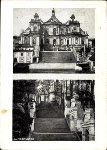 Ak Wambierzyce Albendorf Schlesien, Marienwallfahrt, Kalvarienberg