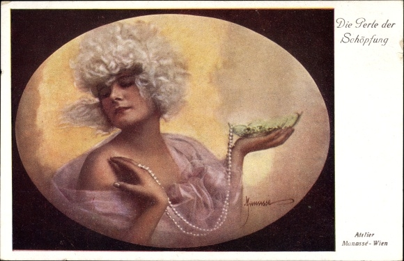 Künstler Ak Manasse, Die Perle der Schöpfung, BKWI Nr 406