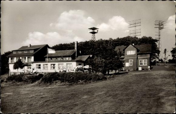 Ak Breungeshain Schotten im Vogelsbergkreis Hessen, Vogelsberg, Hoherodskopf, VHC Clubhäuser