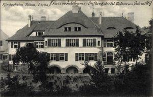 Ak Český Dub Böhmisch Aicha Reg. Reichenberg, Kinderheim