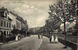 Ak Boppard im Rhein Hunsrück Kreis, Coblenzer Straße, Wohnhäuser, Anwohner