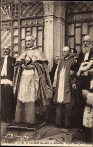 Ak Lourdes Hautes Pyrénées, Cardinal Granito di Belmonte, Légat Pontifical