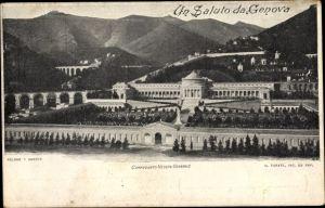 Ak Genova Genua Ligurien, Camposanto, Veduta Generale