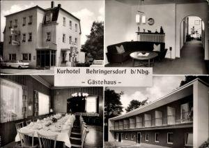 Ak Behringersdorf Schwaig bei Nürnberg in Mittelfranken, Kurhotel Behringersdorf, Inh. W. Hübner