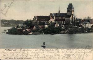 Ak Ratzeburg in Schleswig Holstein, Teilansicht vom Ort