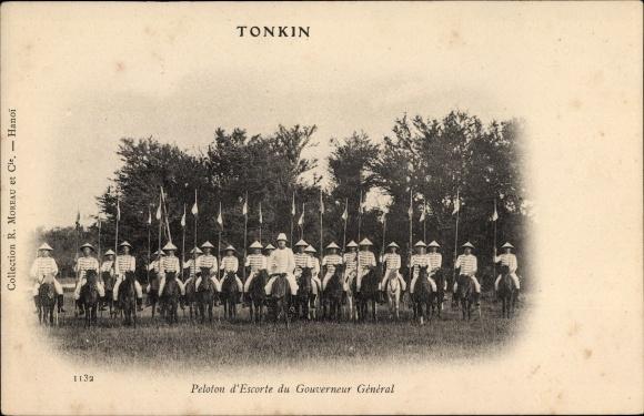 Ak Tonkin Vietnam, Peloton d'Escorte du Gouverneur Général