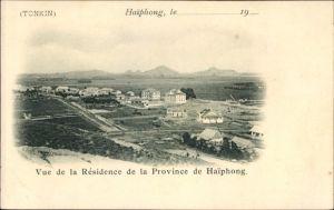 Ak Hai Phong Tonkin Vietnam, Vue de la résidence de la province de Haiphong