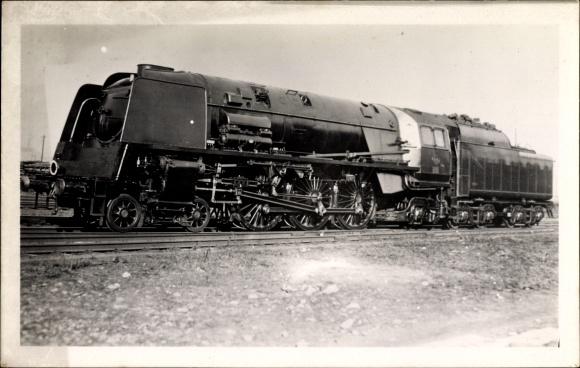 Foto Ak Französische Eisenbahn, Dampflokomotive, Chemin de fer, Tender
