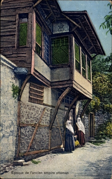 Ak Konstantinopel Istanbul Türkei, Epoque de l'ancien empire ottoman, quartier turc a Stamboul