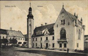 Ak Český Dub Böhmisch Aicha Reg. Reichenberg, Rathaus