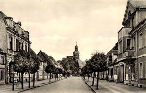 Ak Neustadt Dosse in Brandenburg, Blick in die Robert Koch Straße