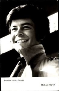 Ak Schauspieler Michael Martin, Portrait