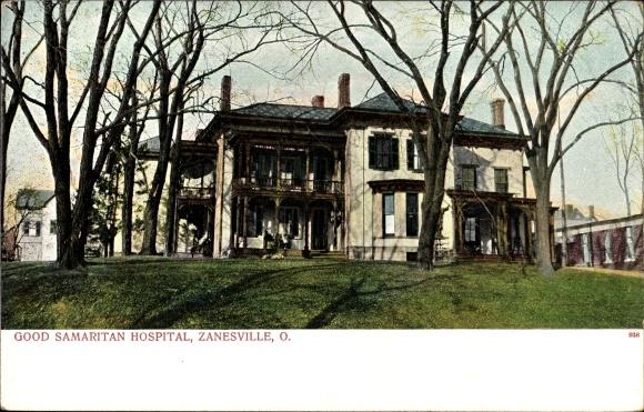 Ak Zanesville Ohio USA, Good Samaritan Hospital, Krankenhaus