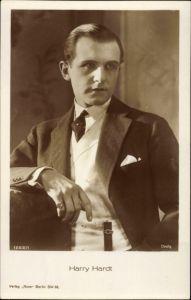 Ak Schauspieler Harry Hardt, Portrait im Anzug, Ross Verlag Nr 1262 1