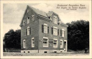 Ak Barmen Wuppertal in Nordrhein Westfalen, Restaurant Bergisches Haus, Inh. Emil Diederichs