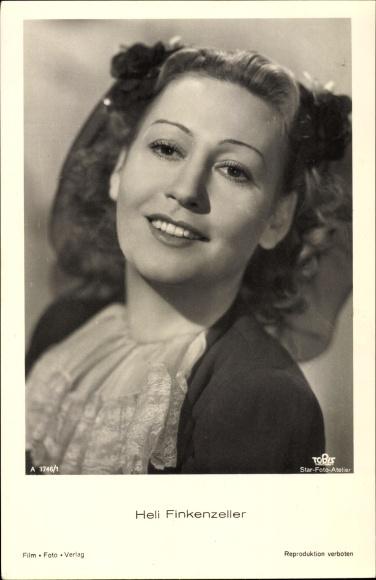 Ak Schauspielerin Heli Finkenzeller, Portrait, Tobis Film A 3746 1
