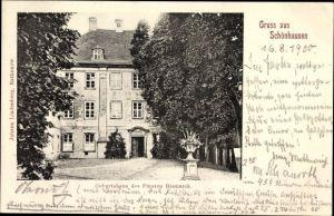 Ak Schönhausen in Sachsen Anhalt, Geburtshaus des Fürsten Bismarck