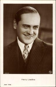 Ak Schauspieler Harry Liedtke, Portrait im Anzug, Ross Verlag 3416 2