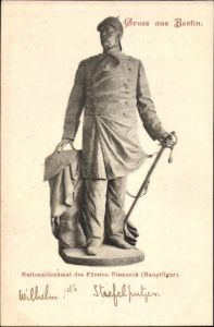 Ak Berlin Mitte, Nationaldenkmal des Fürsten Bismarck