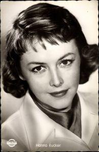 Ak Schauspielerin Hanna Rucker, Portrait, Gloria