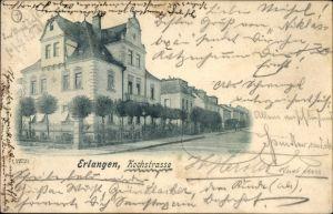 Ak Erlangen in Mittelfranken Bayern, Partie in der Kochstraße