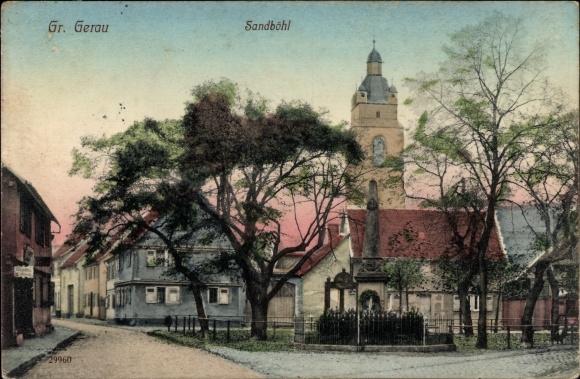 Ak Groß Gerau in Hessen, Sandböhl, Kirche