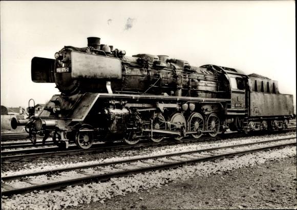 Ak Güterzug Lokomotive 050 975 1´Eh2, Friedrich Krupp, Deutsche Bundesbahn