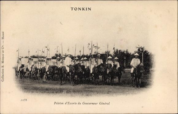 Ak Tonkin Vietnam, Peloton d'Escorte du Gouverneur General