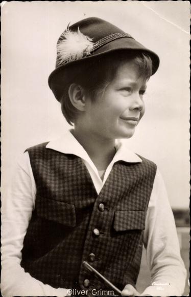 Ak Schauspieler Oliver Grimm, Portrait, Kleiner Mann ganz groß