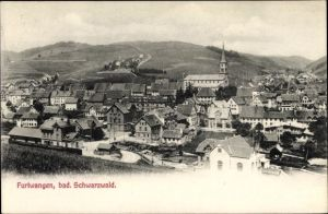Ak Furtwangen im Schwarzwald Baar Kreis, Blick auf den Ort