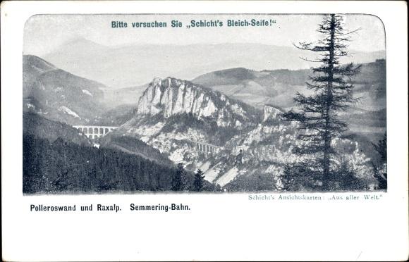 Ak Reichenau An Der Rax In Niederösterreich Polleroswand Und Raxalp