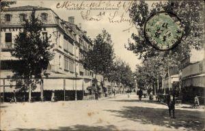 Ak Narbonne Aude Frankreich, Boulevard Gambetta, Straßenpartie